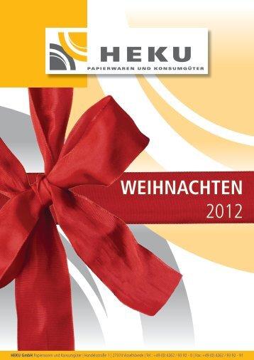 HEKU Weihnachtskatalog 2012