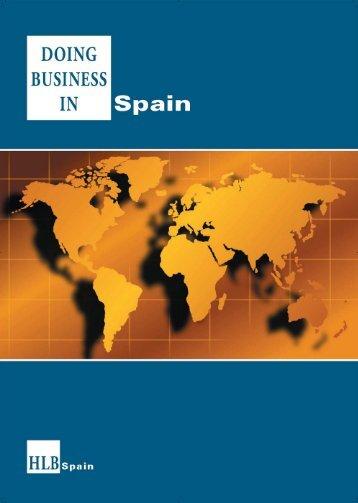 comment traiter des affaires en espagne - HLB Deutschland