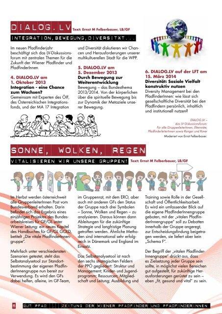 Outdoorpädagogik - Wiener Pfadfinder und Pfadfinderinnen
