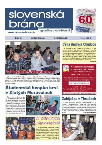 2011-22 - Slovenská brána