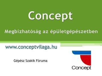 CONCEPT öntvénykazánok - GéPéSZ Csoport