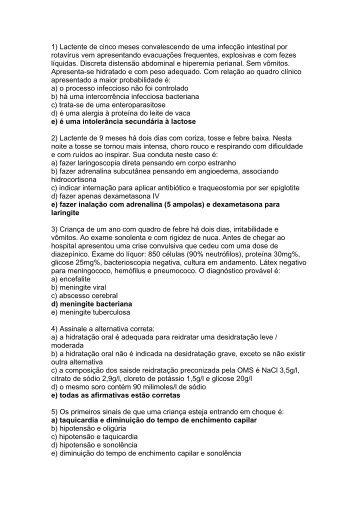 Gabarito da Prova do Exame AMP para Ponta Grossa - Associação ...