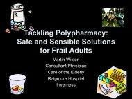 Tackling Polypharmacy - Community Pharmacy