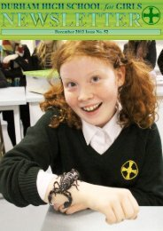 Download (PDF) - Durham High School for Girls