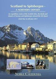 Scotland to Spitsbergen - Cruising.com.au