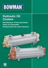 Hydraulic Oil Coolers - EMAC