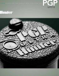 PGP Ultra Brochure - Hunter Industries
