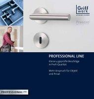 Professional line - Frascio