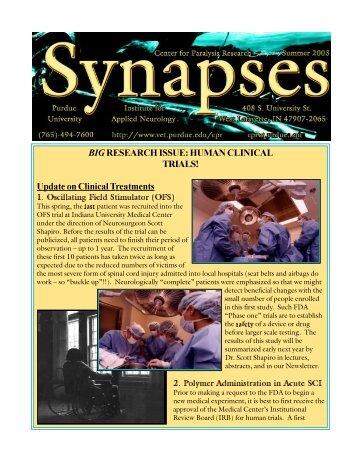View the Institute's Summer 2003 newsletter - Purdue University ...