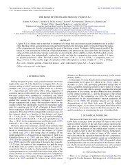 mass - High Energy Astrophysics Division