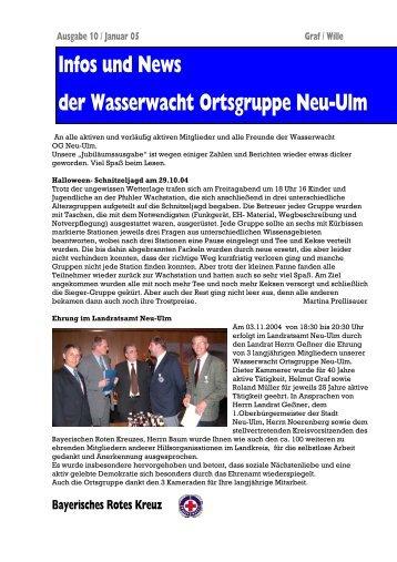 Infos und News 10 - Wasserwacht Ortsgruppe Neu-Ulm