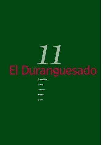 RUTA 11.-EL DURANGUESADO (1004 Kb. ) - Bizkaia