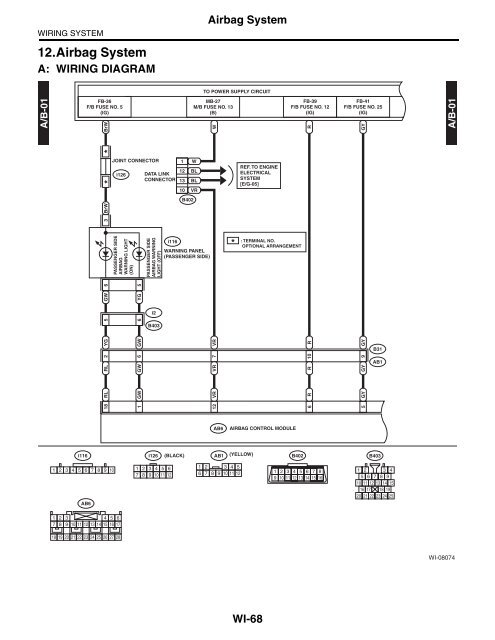 Air Bag Control Systems Schematics Gm Coil Pack Wiring Diagram Loader Tukune Jeanjaures37 Fr