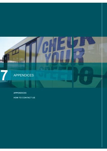 Appendices - Department of Transport - Northern Territory Government
