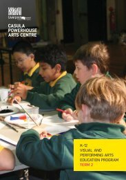 visual arts program - Casula Powerhouse