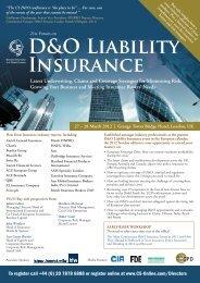 D&O Liability Insurance - C5