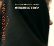 Hildegard av Bingen - Norrbottens läns landsting