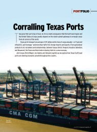 Corralling Texas Ports - Inbound Logistics