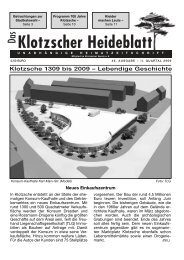 Heideblatt Nr.46 - Klotzscher Heideblatt
