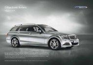 C-Klass Kombi Business. - Mercedes-Benz