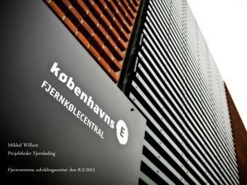 Mikkel Willum - Fjernvarmens Udviklingscenter