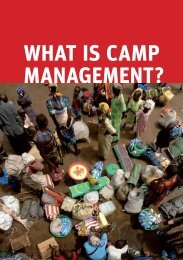 what is Camp management? - ShelterCluster.org