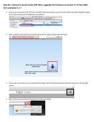 Using RTSP on QC Series DVRs 1  Create the RTSP     - Q-See