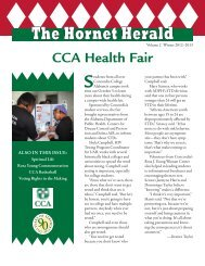 The Hornet Herald - Winter 2013 Edition - Concordia College