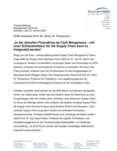 """""""In der aktuellen Finanzkrise ist Cash Mangelware – mit einer ..."""
