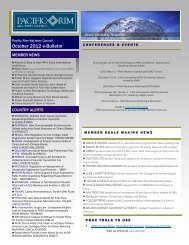 October 2012 e-Bulletin(.pdf) - Pacific Rim Advisory Council (PRAC)