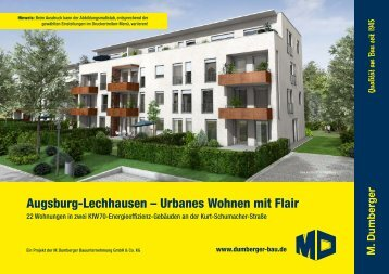 Exposé Mehrfamilienäuser Lechhausen Kurt-Schumacher-Str. | M ...