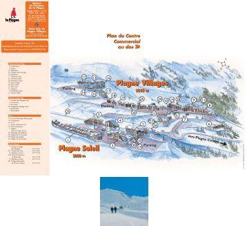 LA PLAGNE PISTE MAP PDF