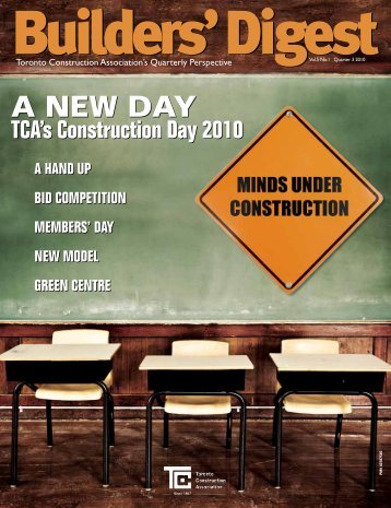 A NEW DAY A NEW DAY - Toronto Construction Association