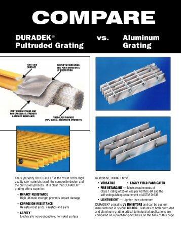 Duradek vs Aluminum 11-00 - JH Menge & Co