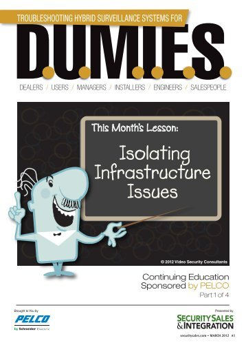 Isolating Infrastructure Issues - Security Sales & Integration Magazine