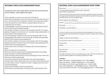 national chess club championship rules national chess club ...