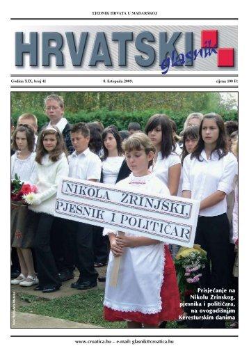 41. broj 8. listopada 2009.