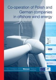 Co-operation of Polish and German companies in offshore wind ...