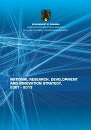 national research, development and innovation ... - euraxess romania