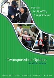 Transportation Options for Older Adults - n4a