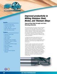 2-1//2 Length 3//16 Cutting Diameter 1//4 Shank Diameter 7//32 Cutting Length Aluminum Titanium Nitride Coating SGS 36781 ZD1CR Z-Carb-HTA High Performance End Mill