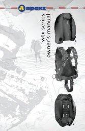 WTX Series Owner's Manual - Aqua Lung