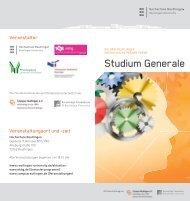 Studium Generale - Theologische Hochschule Reutlingen