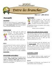 Année 7, # 6, juillet/août 2013 - Saint-Sylvestre