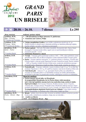 GRAND PARIS UN BRISELE