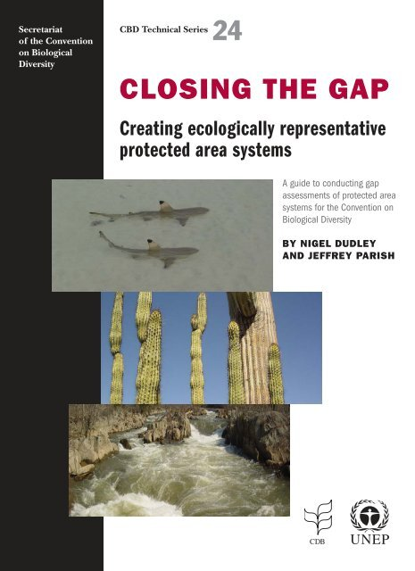 CLOSING THE GAP - Convention on Biological Diversity