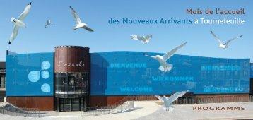 INVIT NOUVEAUX ARRIVANTS.indd - Ville de Tournefeuille