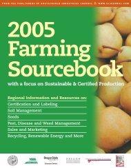 2005 Farming Sourcebook - Oregon IPM Information Source
