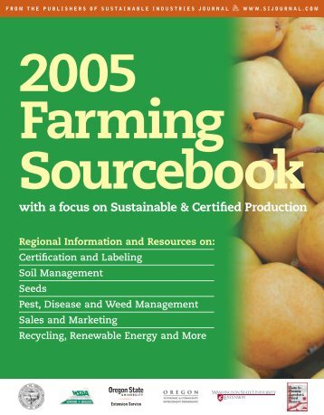2005 Farming Sourcebook - Oregon IPM Information Source