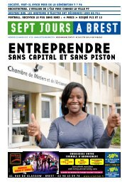 SANS CAPITAL ET SANS PISTON - Sept jours à Brest
